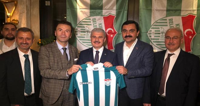 Kırşehir Belediyespor'a Almanyadan destek