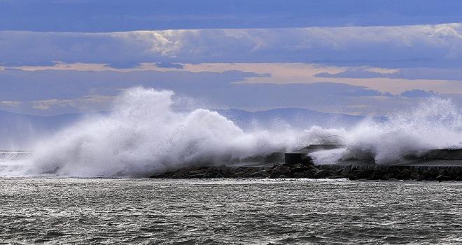 Marmara Denizinde fırtına uyarısı