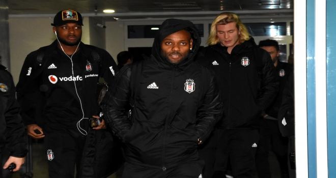 Beşiktaş kafilesi Kayseride
