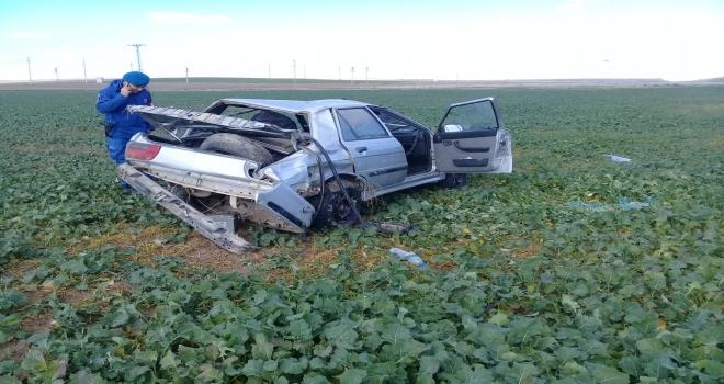 Çeltik'te trafik kazası: 1 yaralı