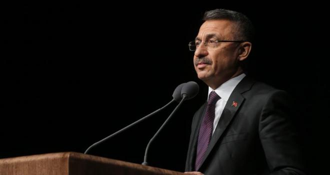 Cumhurbaşkanı Yardımcısı Oktay: Kadına şiddet, topluma karşı işlenmiş bir ihanettir