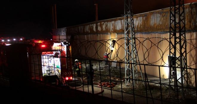 GÜNCELLEME  Kayseride tekstil fabrikasında yangın