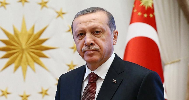 Erdoğandan şehit ailesine taziye telgrafı