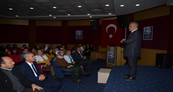 Kırşehirde akciğer kanseri farkındalık eğitimi