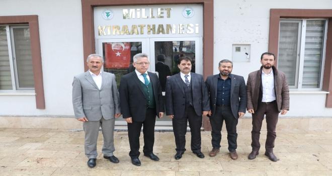 Yozgat Belediyesinden Millet Kıraathanesi