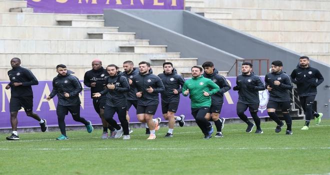 Osmanlıspor, Ümraniyespor maçı hazırlıklarına başladı