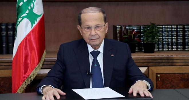 Lübnan Cumhurbaşkanı Avn: BMnin kararları kağıt üzerinde kalıyor