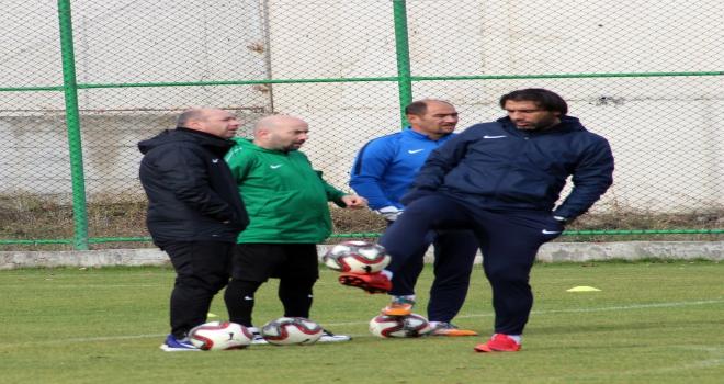 Sivas Belediyesporda Trabzonspor maçı hazırlıkları