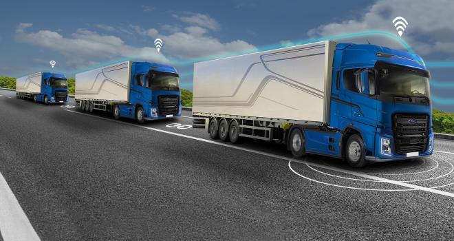 Ford Otosan ve AVLden otonom konvoy konusunda iş birliği