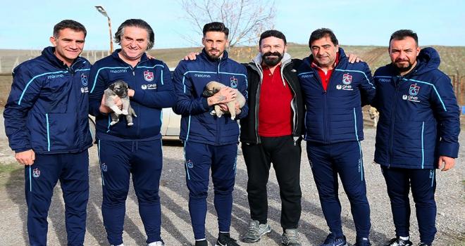 Ünal Karaman ile Sosadan kangal köpeği çiftliğine ziyaret