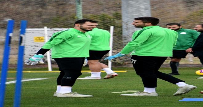 Atiker Konyasporda Trabzonspor maçı hazırlıkları