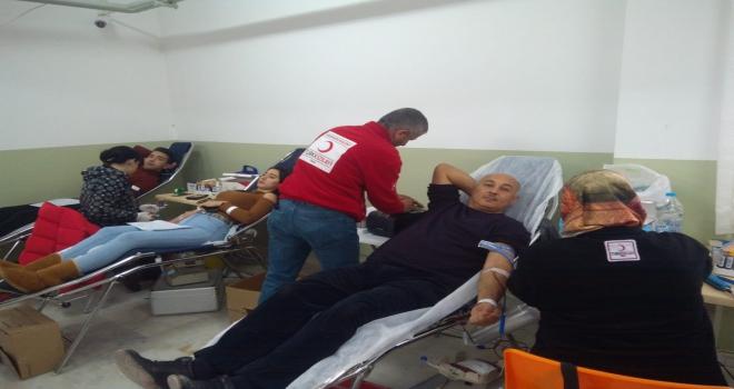 Suşehrinde kan bağışı kampanyası