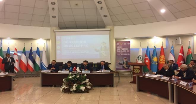 TÜRKSOYda Kazak şair Estay Berkimbaylulının anısına konferans
