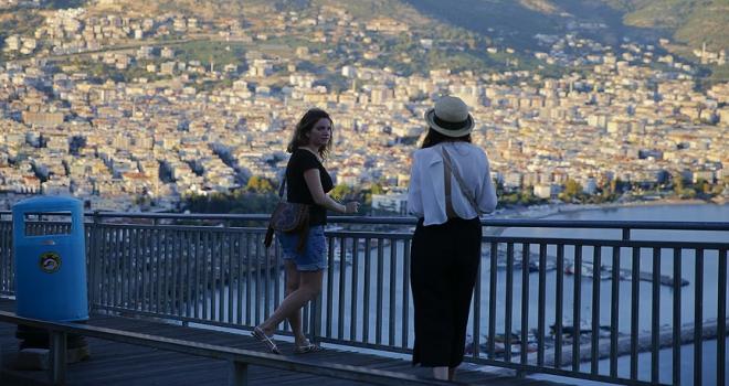 Ukraynalı turist Türkiyeden vazgeçmiyor