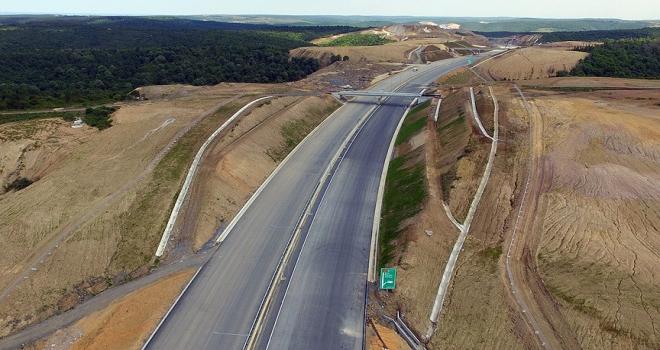 Kuzey Marmara Otoyolu Projesinde bir bölüm daha açıldı