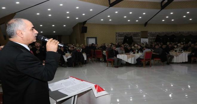 Seyfebeli Küçük Sanayi Sitesi Projesi tanıtıldı