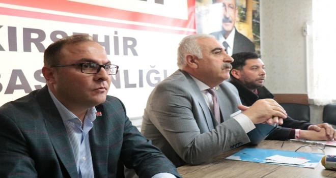 CHP Kırşehir İl Başkanının görevden ayrılması