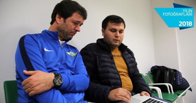 Akhisarspor Teknik Direktörü Arslanın tercihi Gazzede Türk bayrağı oldu