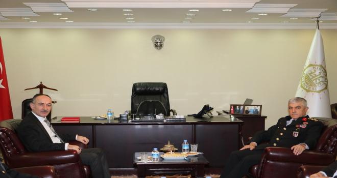 Jandarma Genel Komutanı Çetinin Kırıkkale ziyareti