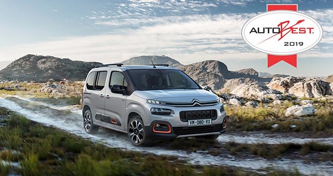 Yeni Citroen Berlingo 2019un en iyi otomobili seçildi