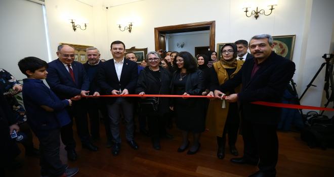 Seyri Aşk tezhip sergisi başkentte açıldı