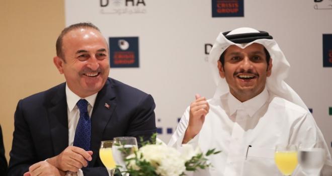 Çavuşoğlundan Dohada diplomasi trafiği