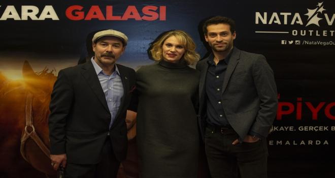 Bizim İçin Şampiyon filminin Ankara galası yapıldı