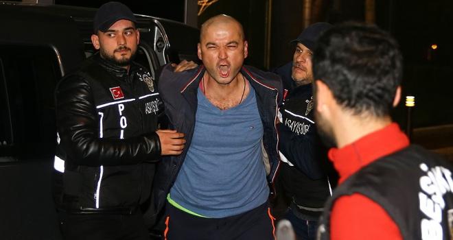 Papağana işkence yapan Murat Özdemir gözaltına alındı