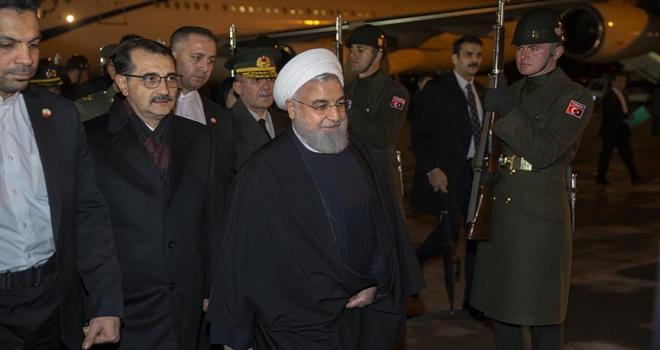 İran Cumhurbaşkanı Ruhani Türkiyede