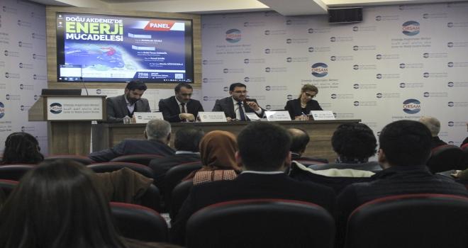 ORSAMdan Doğu Akdenizde Enerji Mücadelesi paneli