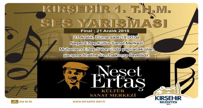 Kırşehir Belediyesi Türk Halk Müziği Ses Yarışması