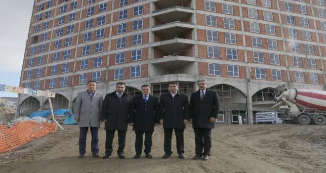 Yozgat Adalet Eğitim Merkezi inşaatında sona yaklaşıldı