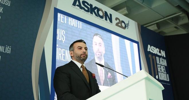 ASKON Genel Başkanlığına Orhan Aydın seçildi