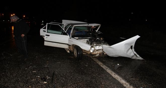 Konyada otomobil ile cip çarpıştı: 1 ölü, 2 yaralı