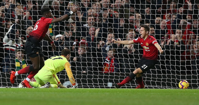Manchester Uniteddan 4 gollü galibiyet