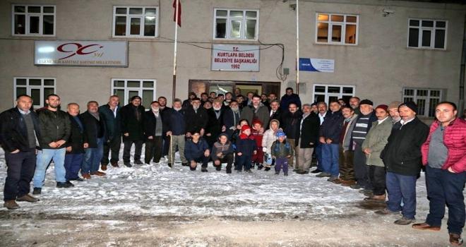 Sivas Valisi Ayhanın köy ziyaretleri
