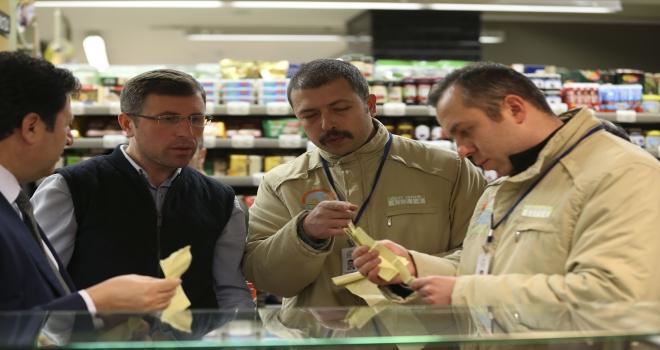 Ankarada yılbaşı öncesi gıda denetimi