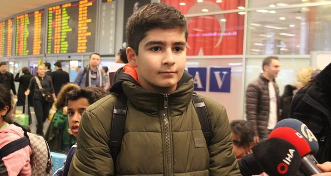Mozart ödüllü Ali İnsan Türkiyeye geldi