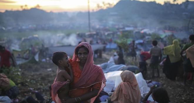 BMMYKdan Hindistana Arakanlı Müslümanlar tepkisi