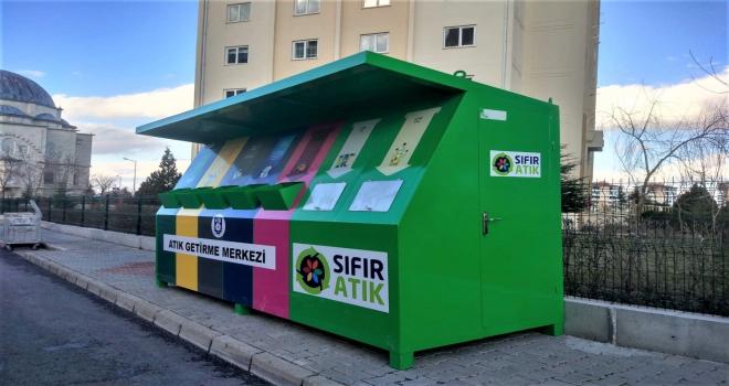 Karaman Belediyesi atık getirme merkezleri kurdu