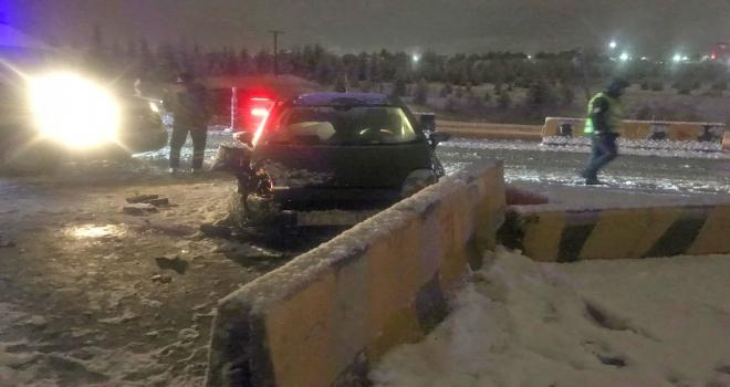 Kırıkkalede trafik kazaları: 7 yaralı