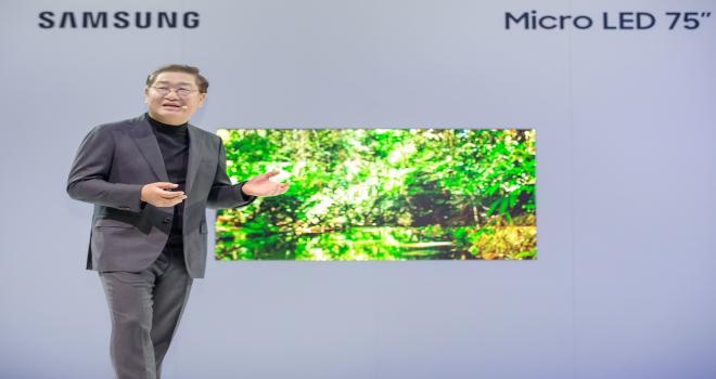 Samsung, ekranların geleceğini CESte tanıttı