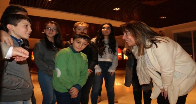 Milletvekili Günay, Sevgi Evleri çocuklarıyla bir araya geldi
