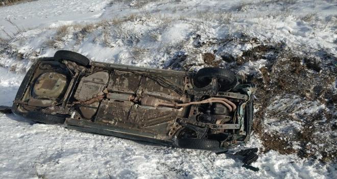 Yozgat'ta trafik kazası: 1 yaralı