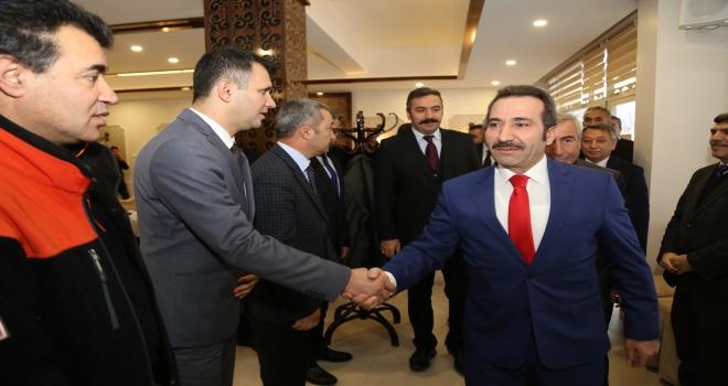 Aksarayda kamu kurumları değerlendirme toplantısı yapıldı