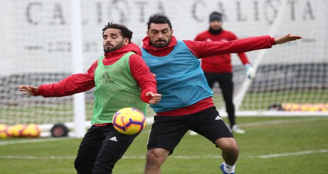Sivassporda ikinci yarı hazırlıkları
