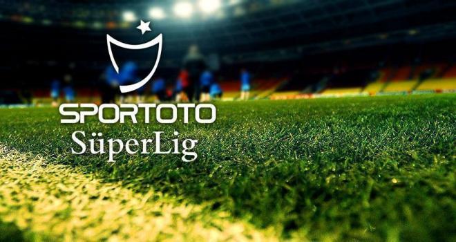 Süper Ligde 3 haftalık maç programı belli oldu