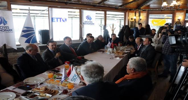 Erciyes Teknopark 650 milyon lirayı aşan ArGe cirosuna ulaştı