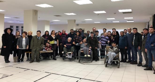 Engellilere yönelik etkinlik düzenlendi