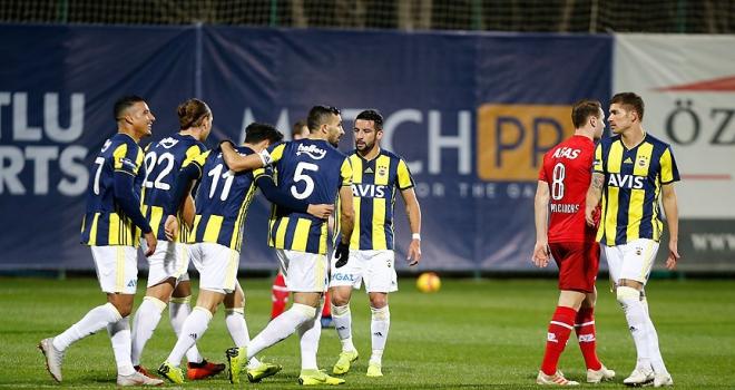 Fenerbahçeden gollü prova
